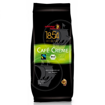 Schirmer Fairtrade Cafe Creme BIO 1kg ganze Bohne